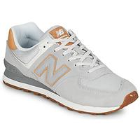 Boty Muži Nízké tenisky New Balance 574 Šedá / Béžová