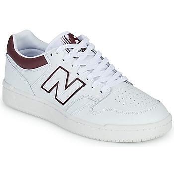 Boty Muži Nízké tenisky New Balance 480 Bílá / Bordó