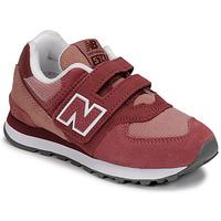 Boty Dívčí Nízké tenisky New Balance 574 Růžová