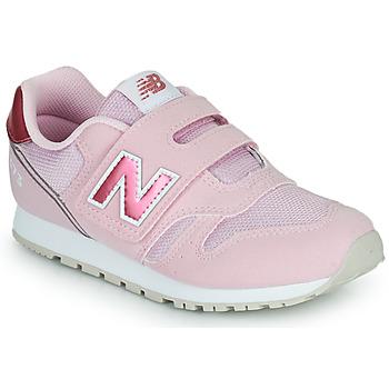 Boty Dívčí Nízké tenisky New Balance 373 Růžová