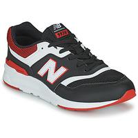 Boty Chlapecké Nízké tenisky New Balance 997 Černá / Červená