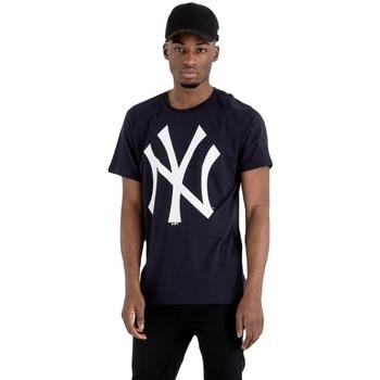 Textil Muži Trička s krátkým rukávem New-Era MLB New York Yankees Černá