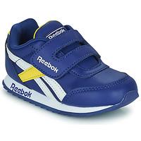 Boty Děti Nízké tenisky Reebok Classic REEBOK ROYAL CLJOG 2  KC Modrá / Žlutá / Bílá