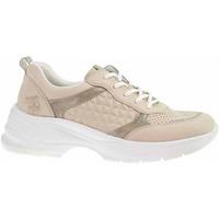 Boty Ženy Nízké tenisky Rieker Dámská obuv  59426-60 beige Béžová