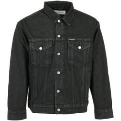 Textil Muži Riflové bundy Calvin Klein Jeans Dad Denim Jacket Černá