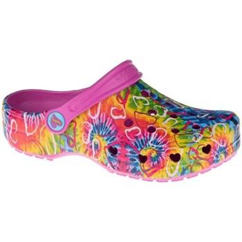 Boty Děti Pantofle Skechers Heart Charmer Hyper Groove Modré, Oranžové, Růžové