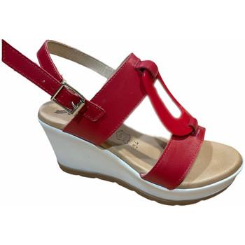 Boty Ženy Sandály Susimoda SUSI2021ros rosso