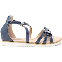 Boty Děti Sandály Miss Sixty S19-SMS577 Modrý