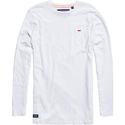 Textil Muži Trička & Pola Superdry M60000MR Bílý