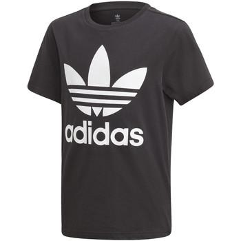 Textil Děti Trička s krátkým rukávem adidas Originals DV2905 Černá