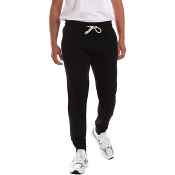 Textil Muži Kalhoty Key Up 2F37E 0001 Černá