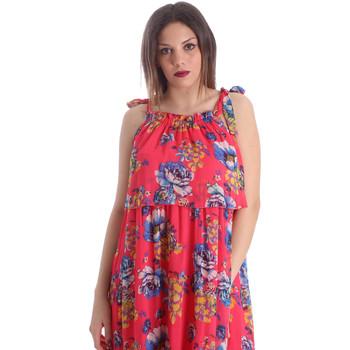 Textil Ženy Šaty Gaudi 911FD15039 Růžový