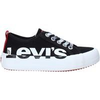 Boty Děti Nízké tenisky Levi's VBET0022T Černá