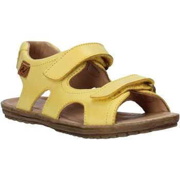 Boty Děti Sandály Naturino 502708 01 Žlutá