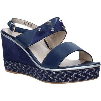 Boty Ženy Sandály Melluso HR70814 Modrý
