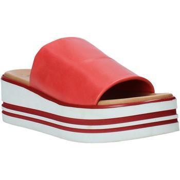 Boty Ženy Dřeváky Melluso 09602X Červené