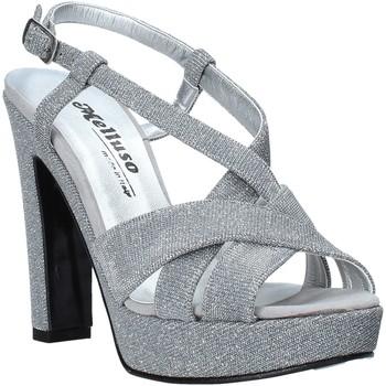 Boty Ženy Sandály Melluso HJ440 Stříbrný