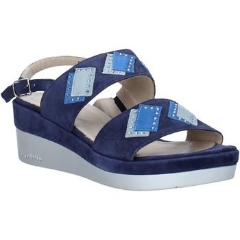 Boty Ženy Sandály Melluso HR70717 Modrý
