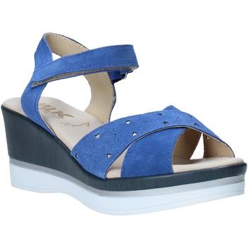 Boty Ženy Sandály Melluso .037064F Modrý