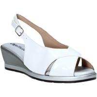 Boty Ženy Sandály Melluso 037084X Bílý