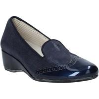 Boty Ženy Mokasíny Melluso H08131 Modrý