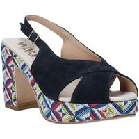 Boty Ženy Sandály Melluso H037080 Modrý