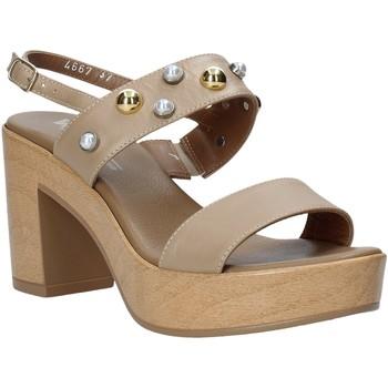 Boty Ženy Sandály Melluso HR80107 Béžový