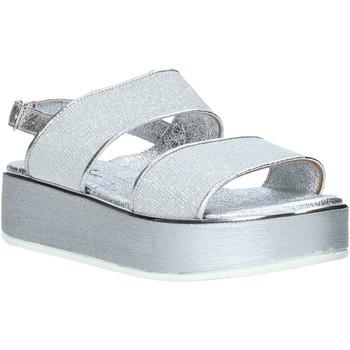 Boty Ženy Sandály Melluso 09620X Stříbrný