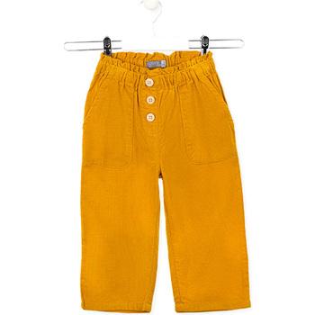 Textil Děti Kalhoty Losan 026-9002AL Žlutá