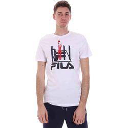 Textil Muži Trička s krátkým rukávem Fila 688509 Bílý