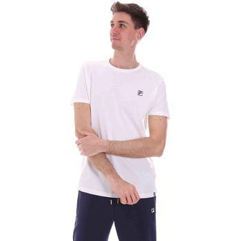 Textil Muži Trička s krátkým rukávem Fila 688567 Bílý