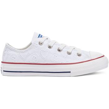 Boty Děti Nízké tenisky Converse 671098C Bílý