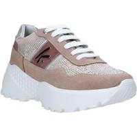 Boty Ženy Nízké tenisky Keys K-4300 Růžový