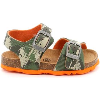Boty Děti Sandály Grunland SB0386 Zelený