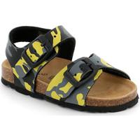 Boty Děti Sandály Grunland SB0969 Žlutá