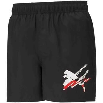 Textil Muži Plavky / Kraťasy Puma 586743 Černá