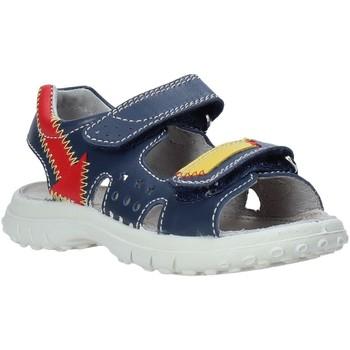 Boty Děti Sandály Naturino 502762 01 Modrý