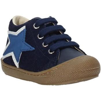 Boty Děti Kotníkové boty Naturino 2014754 01 Modrý