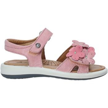 Boty Dívčí Sandály Naturino 502555 03 Růžový