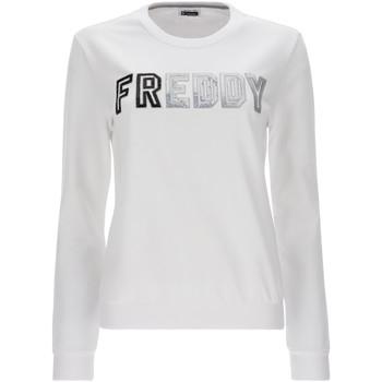 Textil Ženy Mikiny Freddy S1WCLS4 Bílý