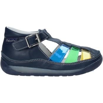 Boty Děti Sandály Falcotto 1500746 02 Modrý