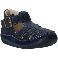 Boty Děti Sandály Falcotto 1500746 01 Modrý