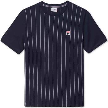Textil Děti Trička s krátkým rukávem Fila 688809 Modrý