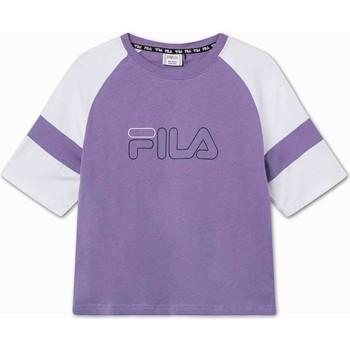 Textil Děti Trička s krátkým rukávem Fila 683330 Fialový