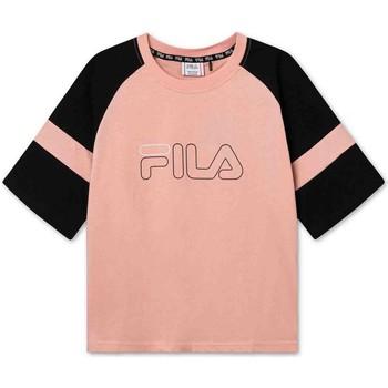 Textil Děti Trička s krátkým rukávem Fila 683330 Růžový