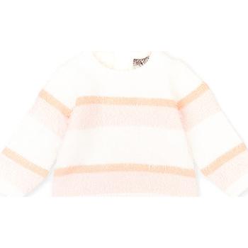 Textil Děti Svetry Losan 028-5001AL Růžový