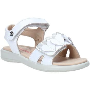 Boty Dívčí Sandály Naturino 502857 01 Bílý