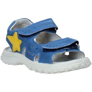 Boty Děti Sandály Naturino 502451 01 Modrý