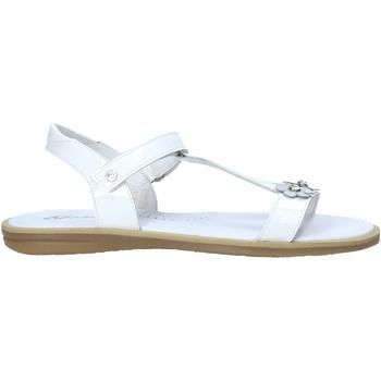 Boty Dívčí Sandály Naturino 502393 01 Bílý