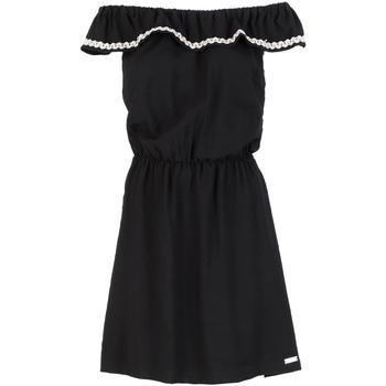 Textil Ženy Krátké šaty Café Noir JA6090 Černá